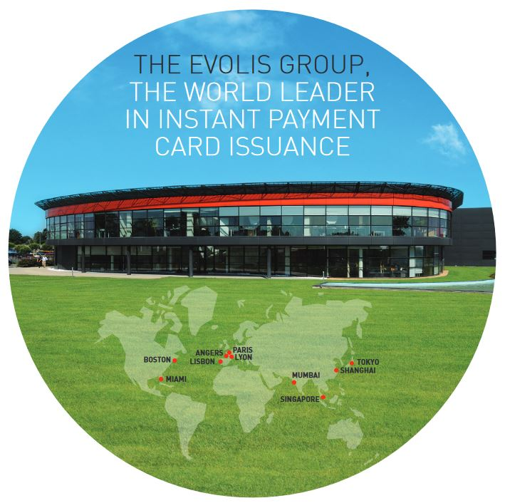 THE EVOLIS GROUP, THE WORLD LEADERIN INSTANT PAYMENTCARD ISSUANCE