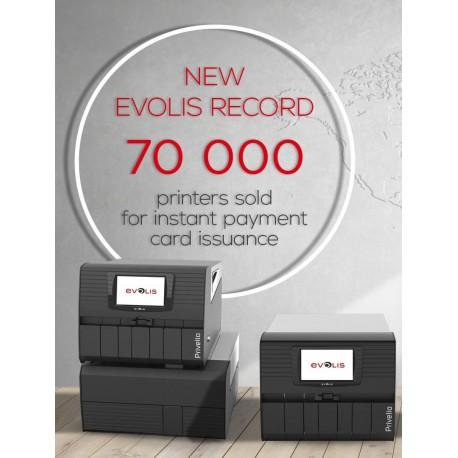 Banking market Evolis record